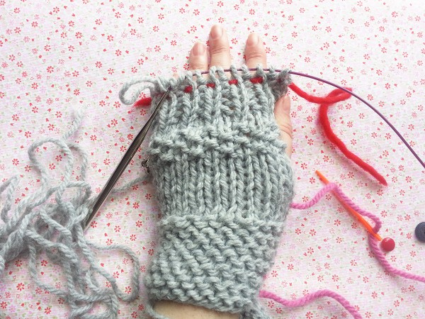 howto make mittens
