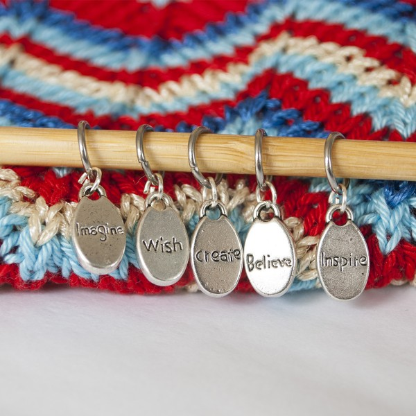 Words stitch markers 0493