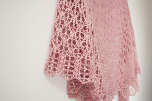 Half Circle Dreamy Moon Shawl