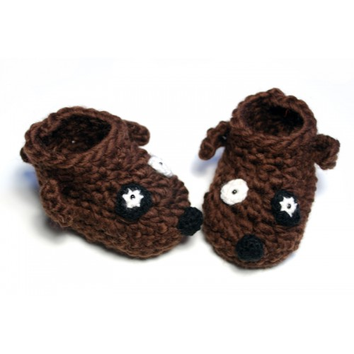 Free Crochet Pattern For Dog Shoes : NEW EASY CROCHET PATTERNS FOR DOG BOOTIES Crochet